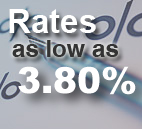 Rates as low as 5.1